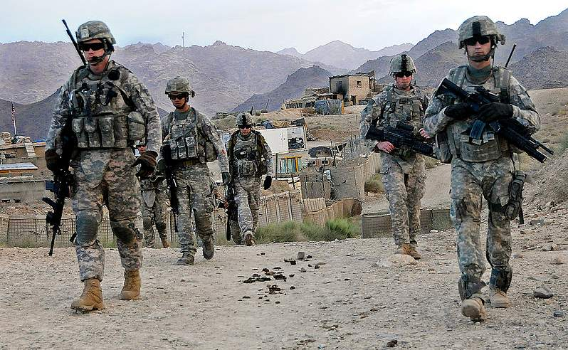 Suicide bombing on 9/11 anniversary wounds 5 US troops in Afghanistan Featured