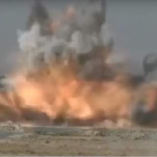 French soldiers obliterate ISIS suicide vehicle 320x320 - (VIDEO) See the moment French soldiers obliterate an ISIS suicide vehicle coming directly at them