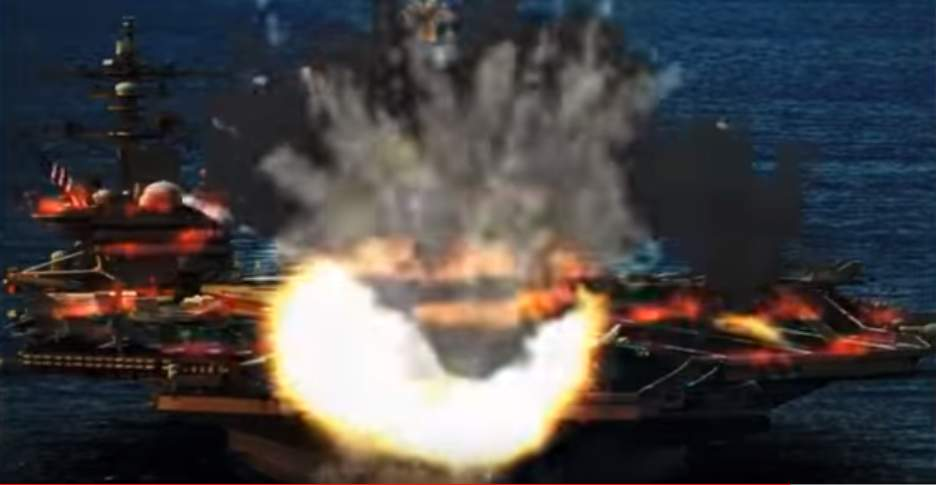 North Korea blows up US aircraft carriers and jets in this latest propaganda video Featured