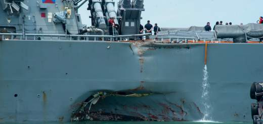 Screen Shot 2017 08 21 at 10.11.56 AM 520x245 - 10 US Navy sailors still missing after USS John S. McCain collides with oil tanker