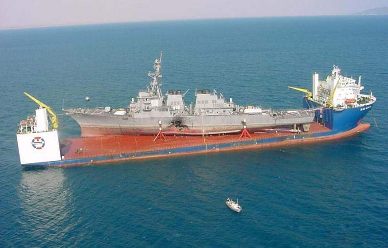 This is the massive ship that will take the damaged USS John S. McCain back to Japan Featured