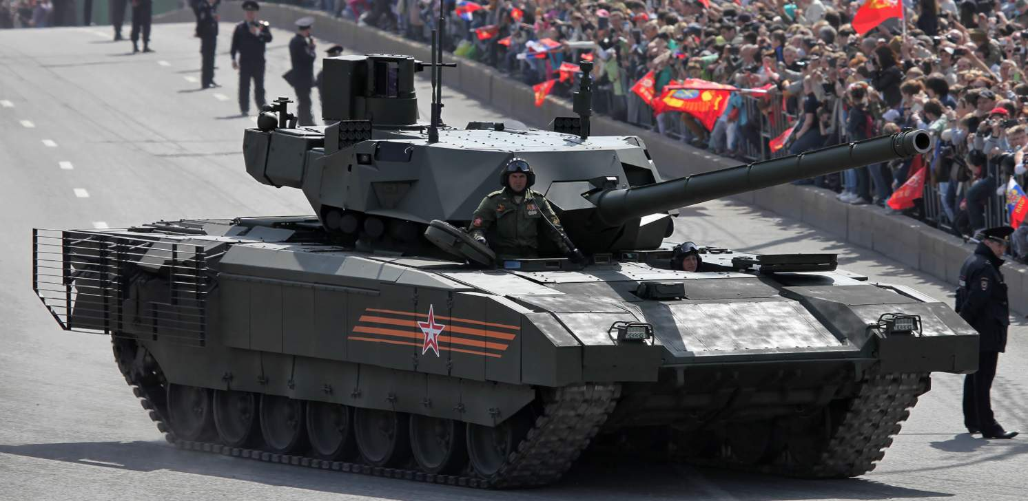 Russia makes wild claim that its next generation T-14 Armata tank can run on Mars Featured