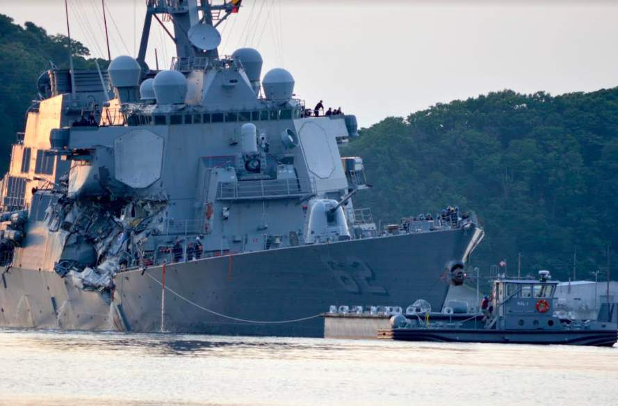 Report: Navy must use pencil and paper to track hazards at sea, get more sleep in response to collisions Featured