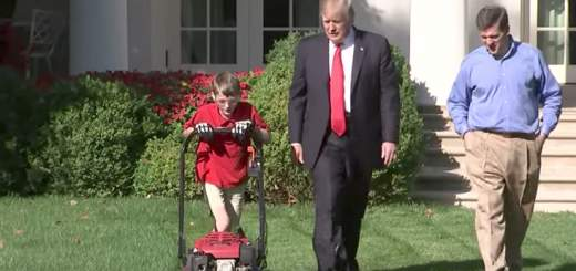 Screen Shot 2017 09 15 at 2.47.17 PM 520x245 - 11-year-old boy mows White House lawn, tells President Trump he wants to be a Navy SEAL when he grows up