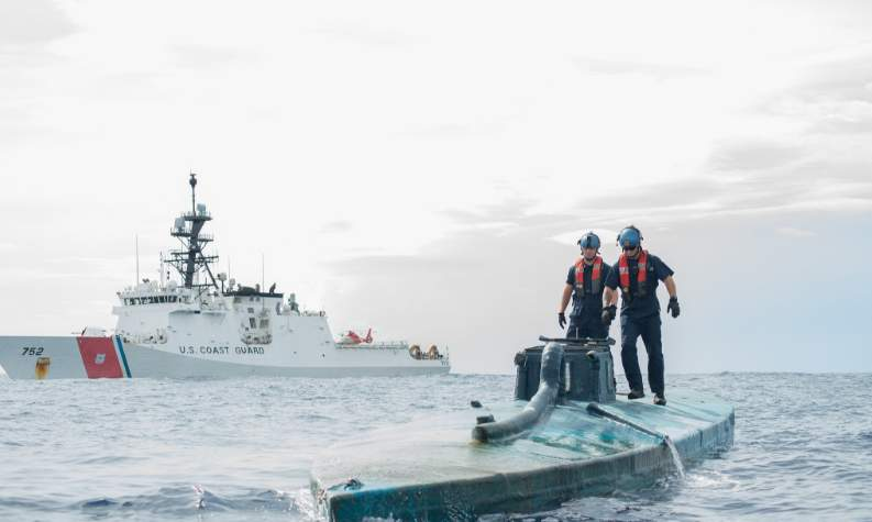 The Coast Guard is detecting a new trend among high-seas narco smugglers Featured