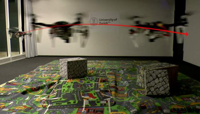 Swiss researchers invent way to let mini drones see in the dark Featured