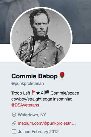 Screen Shot 2017 09 26 at 8.36.34 AM - West Point grad Army officer is 'official Socialist organizer' who spreads Communist propaganda relentlessly