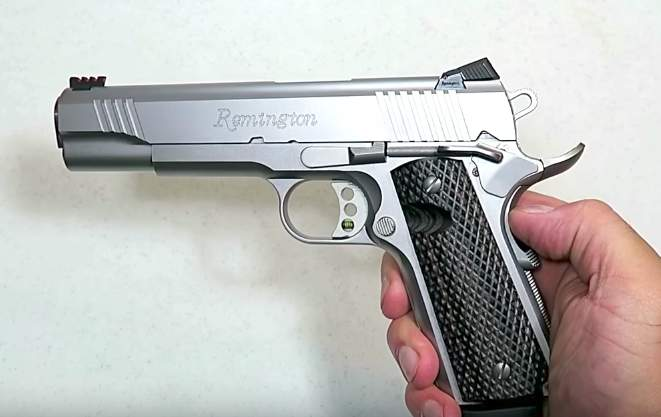 The Remington 1911 R1 Enhanced Stainless is a classy and functional 1911 Featured