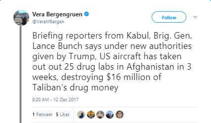 Vera Bergengruen - B-52 drops most bombs ever in one Stratofortress strike while bombing Taliban