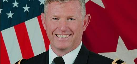 harrington 520x245 - Army general suspended amid investigation into 'racy' Facebook messages with subordinate's wife