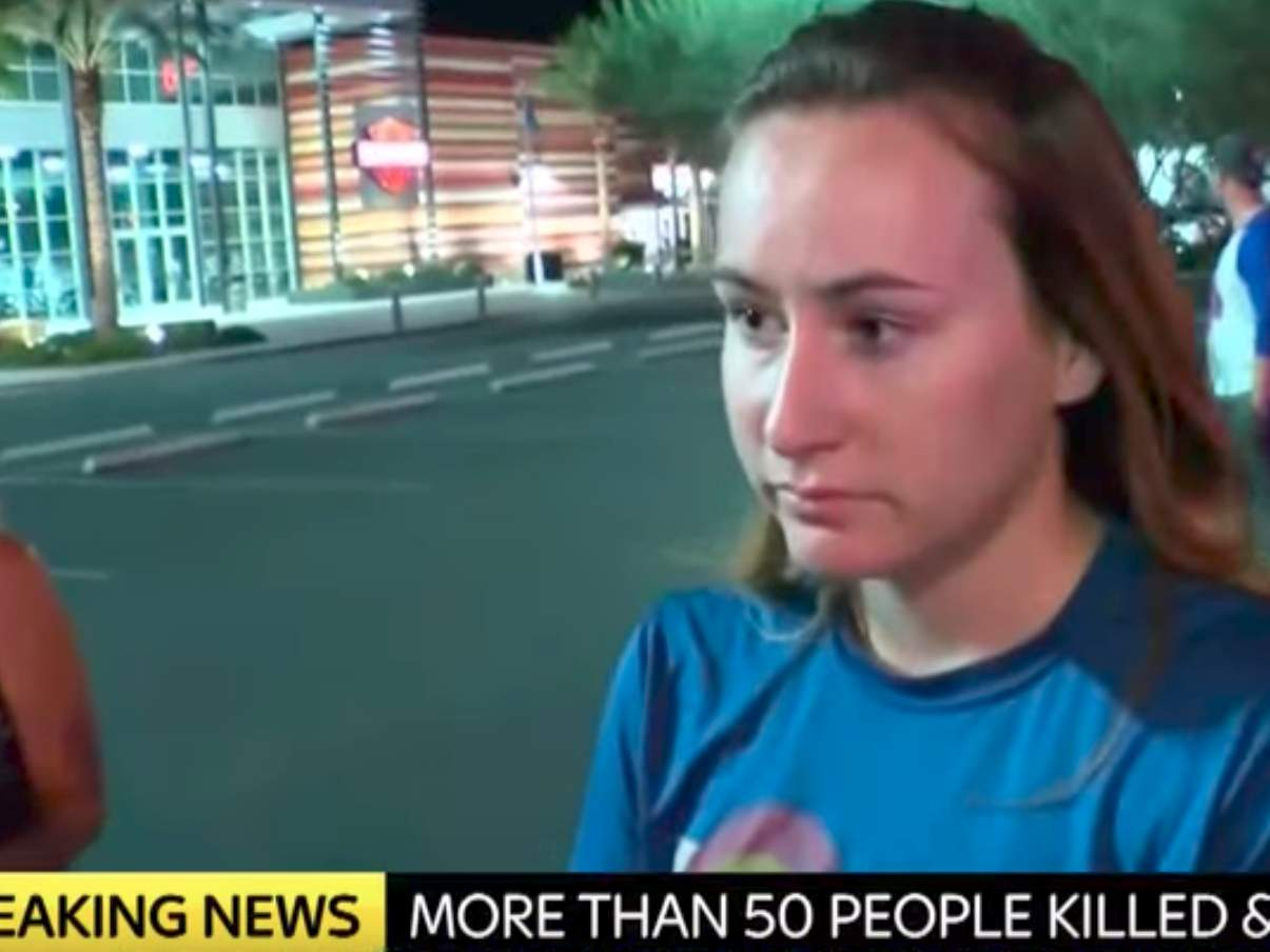 Witness says woman told Las Vegas crowd they're 'all going to die' 45 minutes before shooting Featured