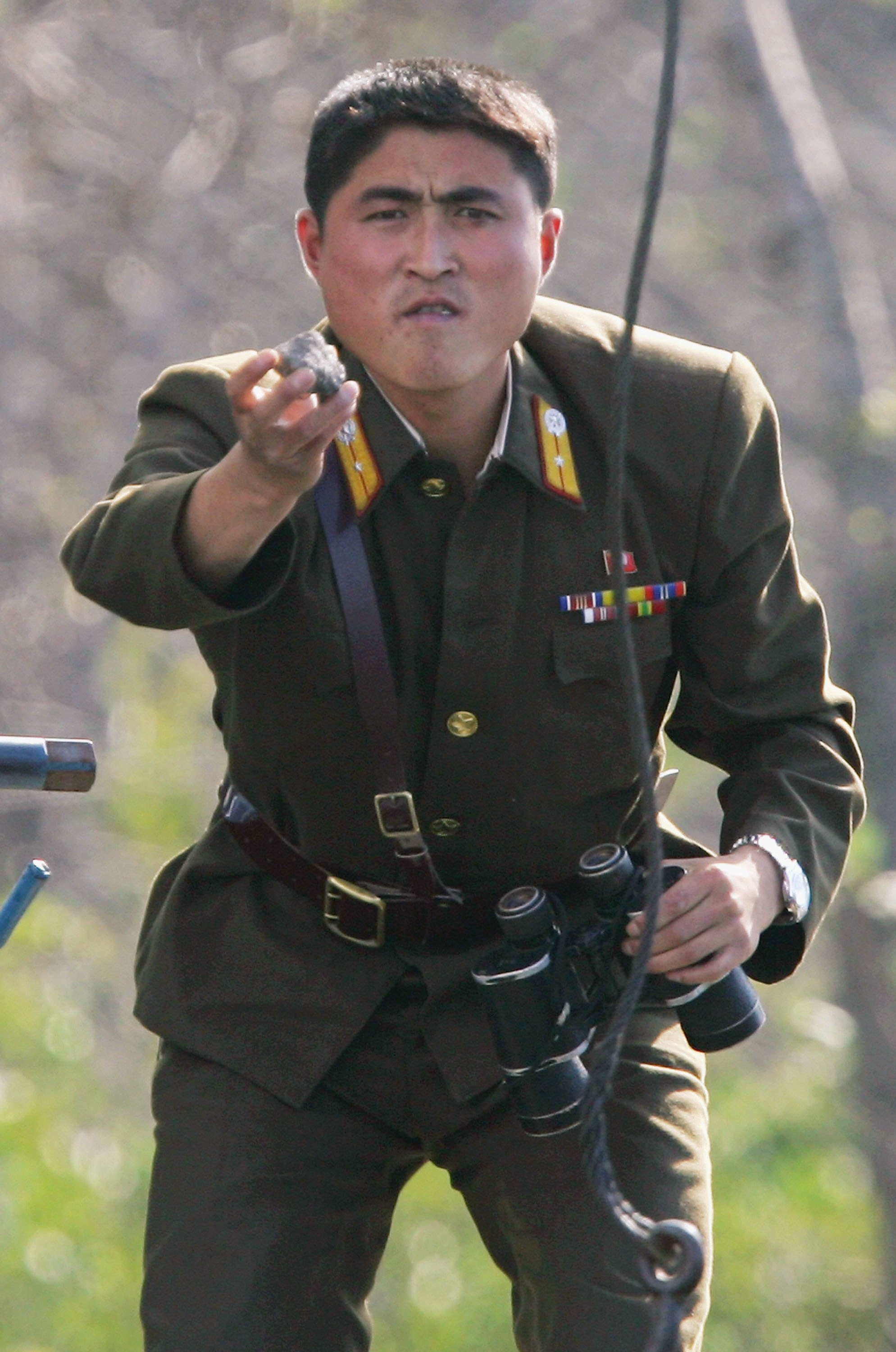 """North Korea Claims U.S. Soldiers Are """"Taunting"""" Border Troops After North Korean Troops Do The Same Featured"""