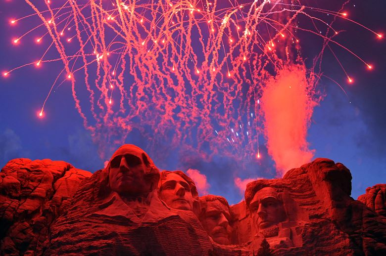 Trump Confirms July 4th Fireworks At Mt Rushmore And He
