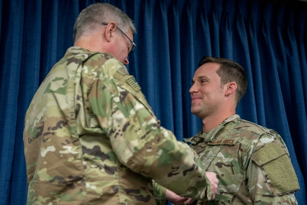 Air Force Staff Sgt. who fought ISIS for 15 hours receives nation's 2nd highest award for valor