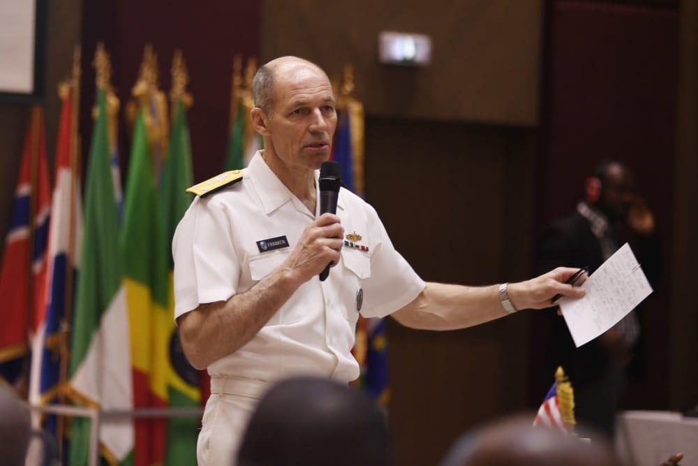 Ret. three-star Admiral Michael Franken is running for US Senate