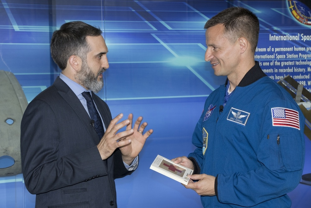 Former Fort Bragg flight surgeon to launch into space this month