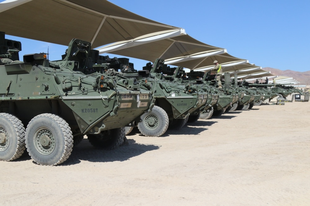 Army to test Stryker vehicles armed with laser weapons in competition