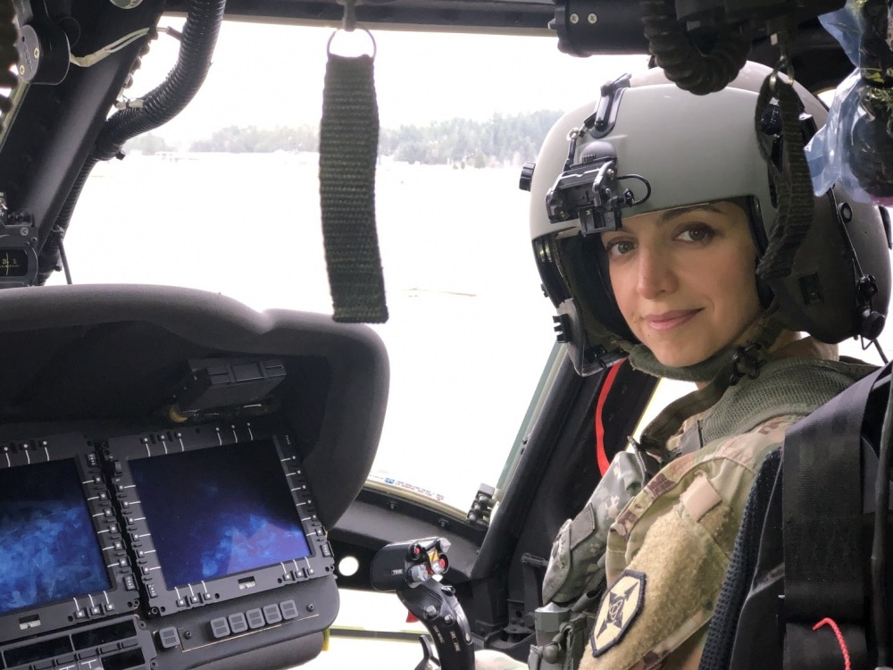 From the desert to the cockpit: Army Reserve officer, aviator shares her story | American Military News