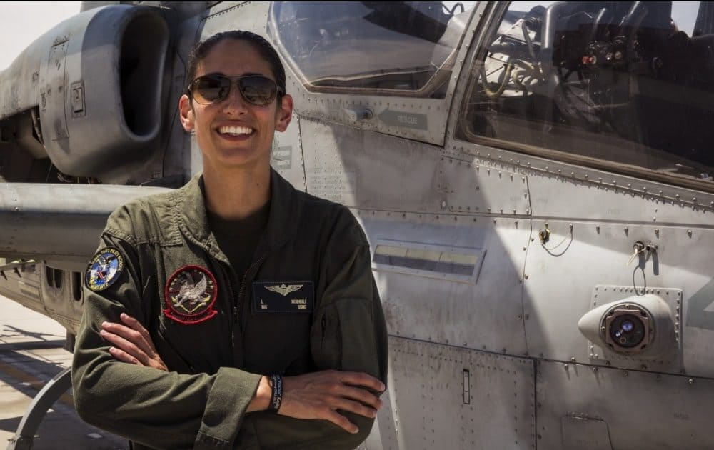 Marine Corps Cobra helicopter pilot becomes NASA astronaut & could be first woman on the moon