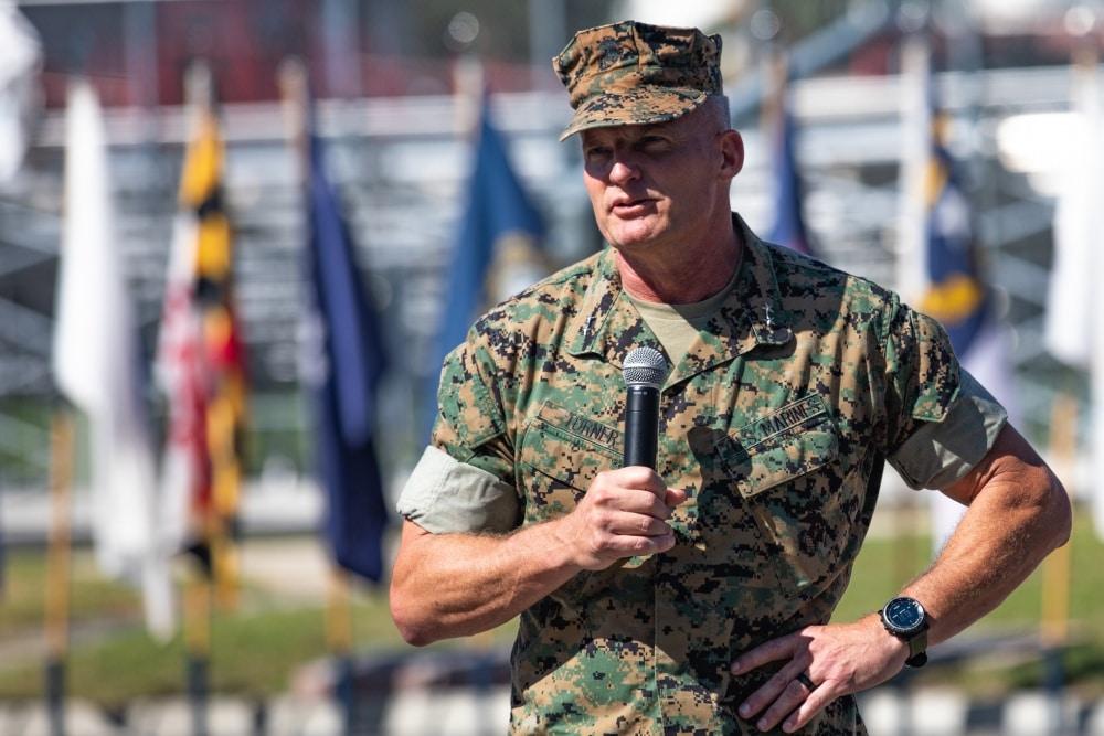 Storied 1st Marine Division gets new commander at Camp Pendleton