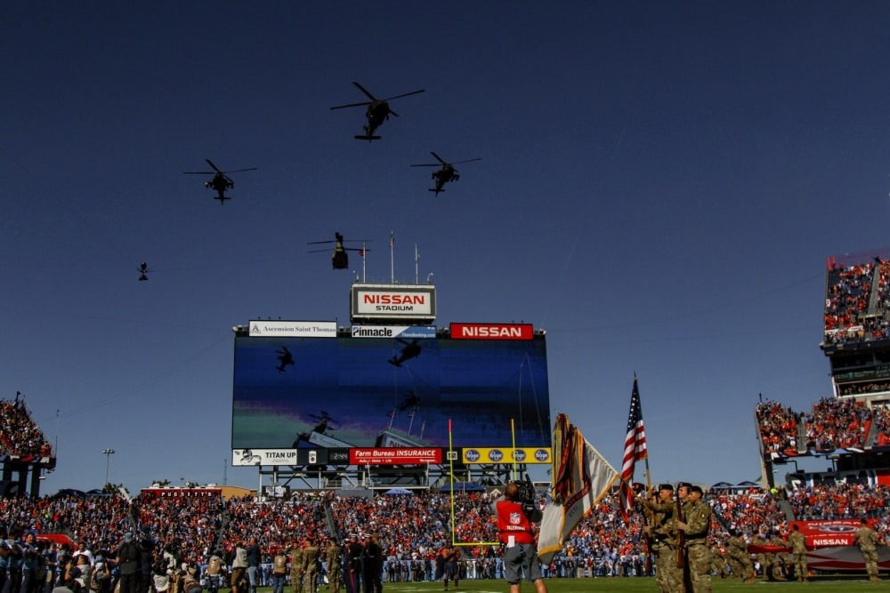 Video: NFL announcers Aikman, Buck caught criticizing military flyover on hot mic