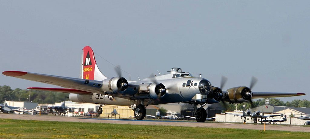 Week after deadly crash, another B-17 takes flight at MA airport