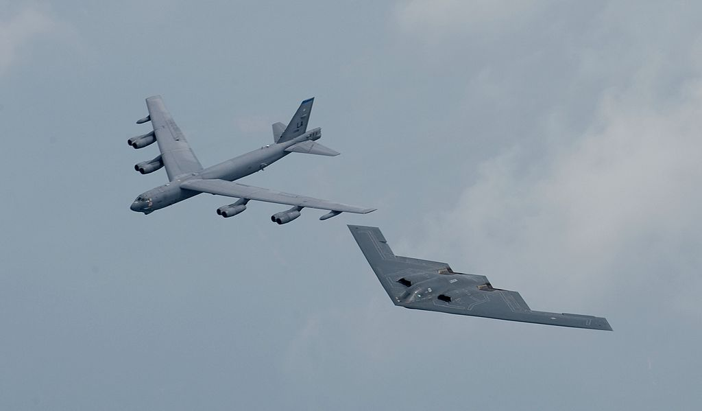 Taiwan says US flies B-52 bombers near island after Chinese drills