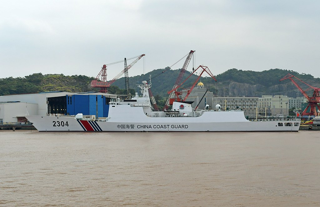 China slammed after adoption of Coast Guard attack law