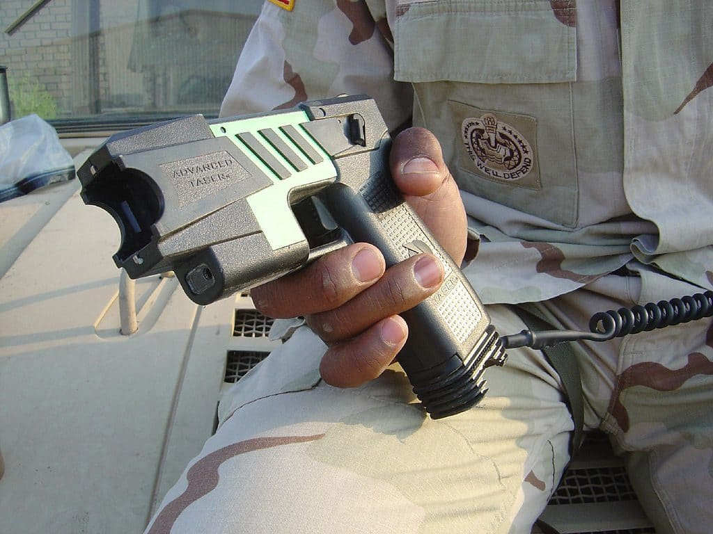 Gun-rights advocates sue for right to own stun guns, Tasers; currently illegal in R.I.
