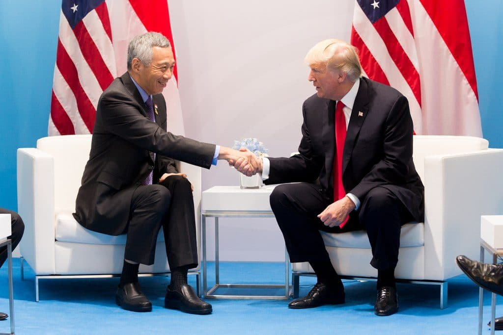 PM Lee, Trump renew key defense pact on US use of Singapore air, naval bases