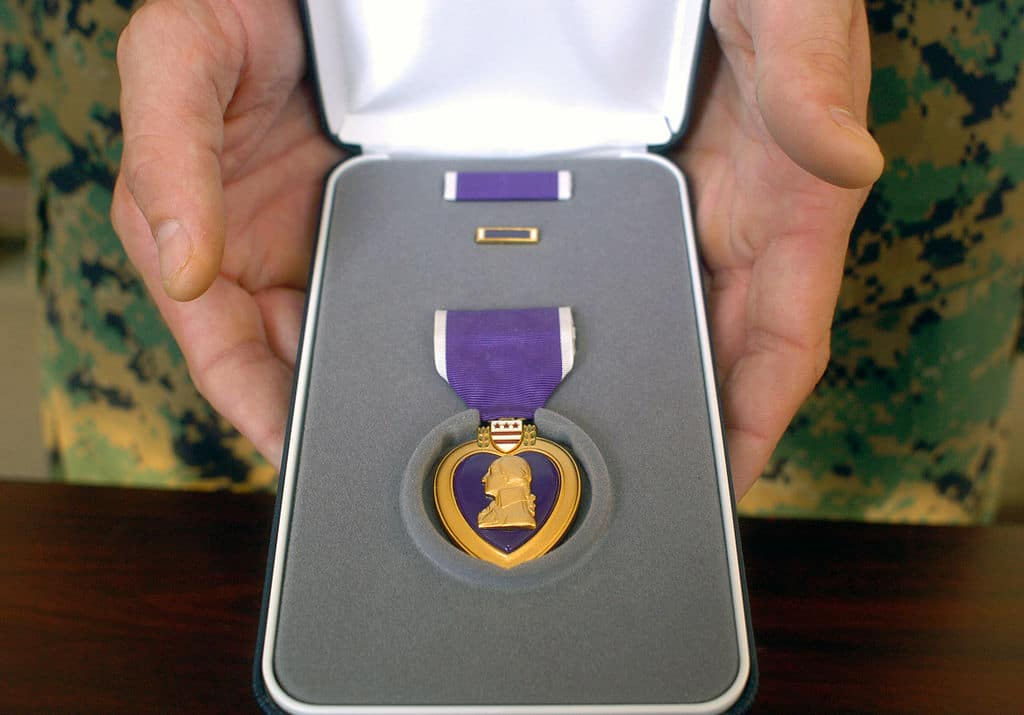 Relative of WWI Cambridge crewman comes forward to claim Purple Heart