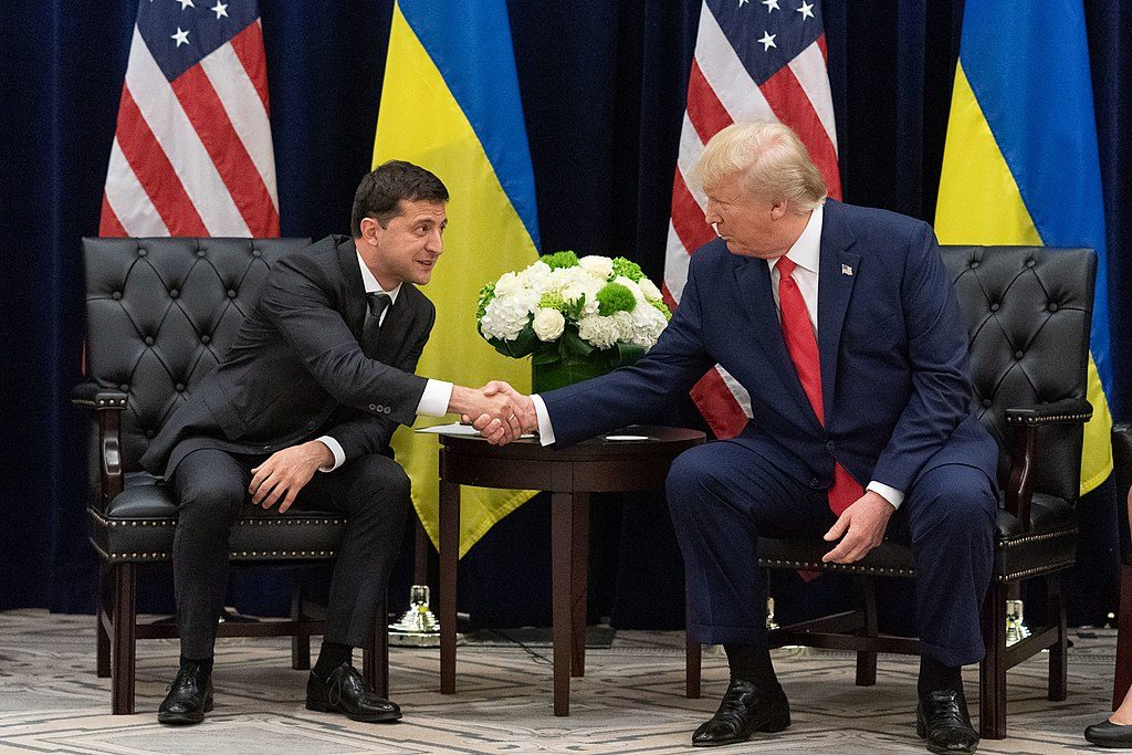 Visiting Ukrainian official says relations with U.S. remain 'unshattered'