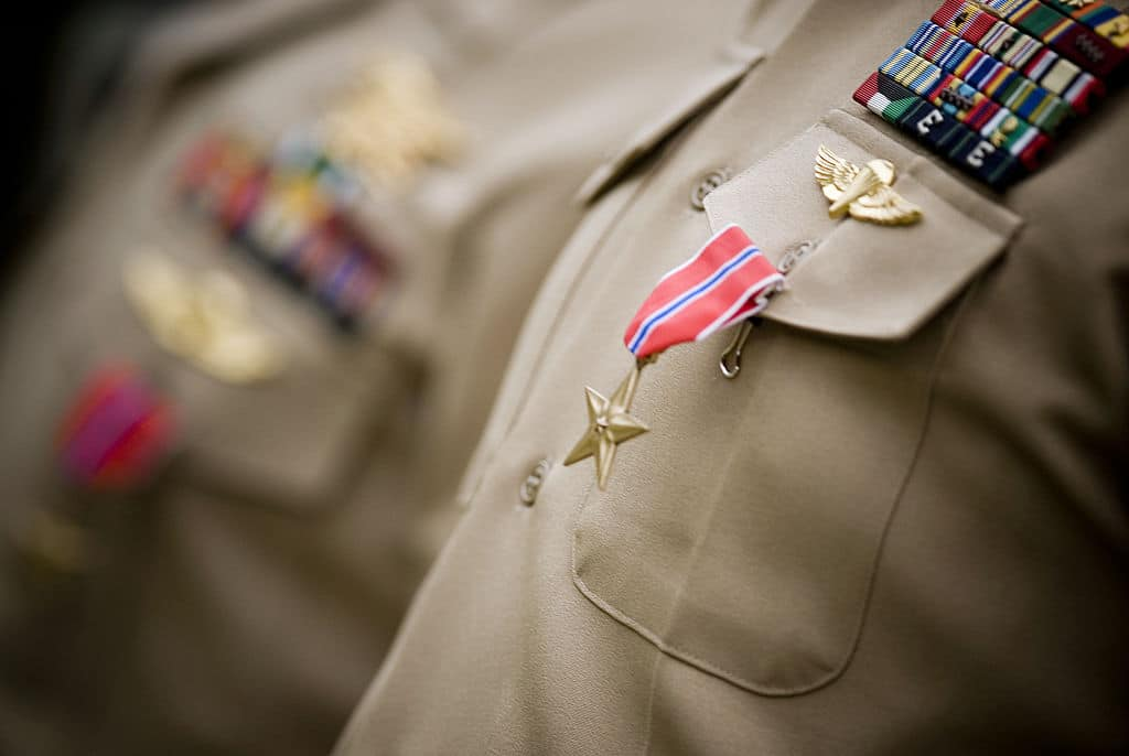 A former Washington resident received a Silver Star for bravery. This is what he did