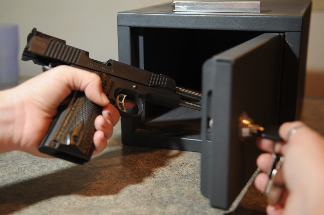 CA city bans guns in private homes unless locked up, disabled