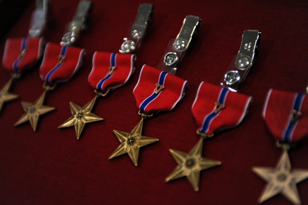 Bronze Star pinned on WWII veteran from PA 74 years after epic tank duel