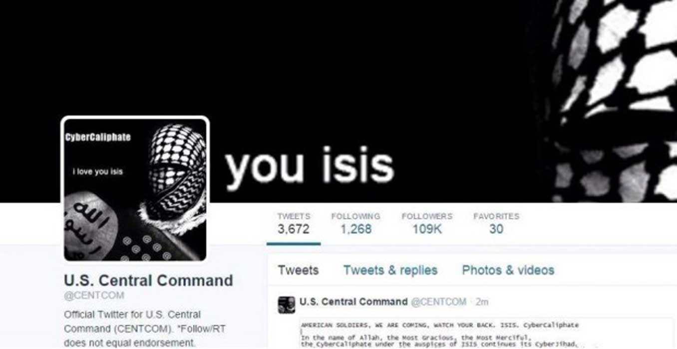 The CENTCOM Twitter And YouTube ISIS Hack Was Executed From…Maryland?! Featured