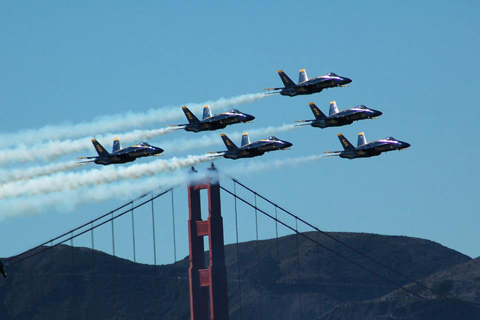 San Francisco Seeking To Ban Blue Angels From Flying Over City For A Long Time Featured