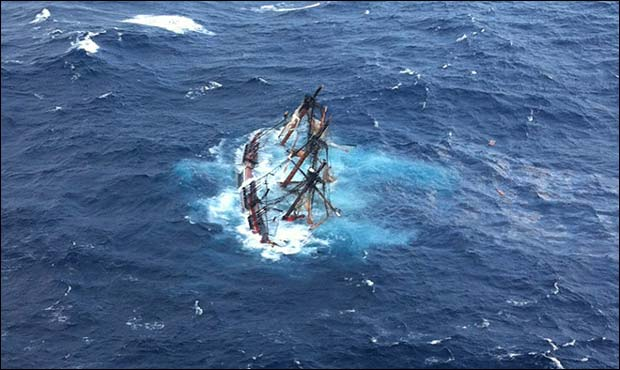 Coast Guard For HMS Bounty Rescue Featured
