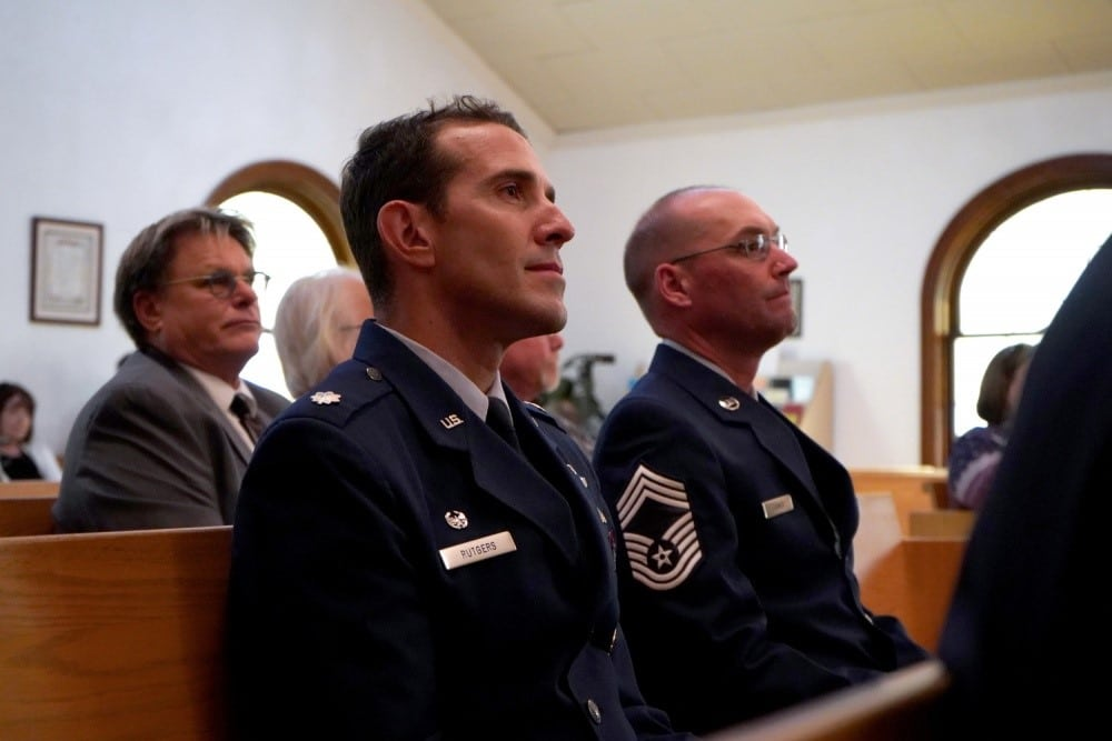 123rd Fighter Squadron says farewell to last charter member   American Military News