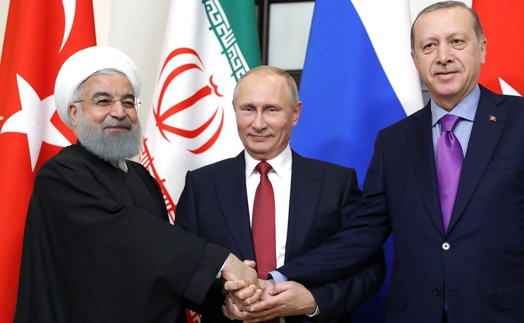 Turkey, Russia, Iran vow to ease tensions in Syria's Idlib