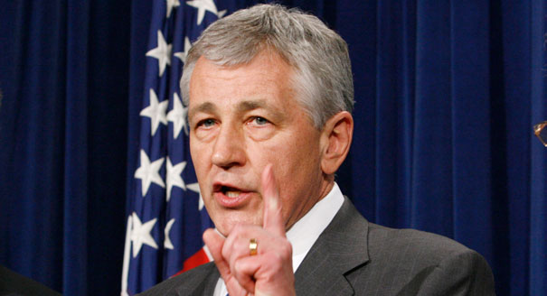 Defense Secretary Hagel Makes Statement On Supreme Court's DOMA Ruling Featured