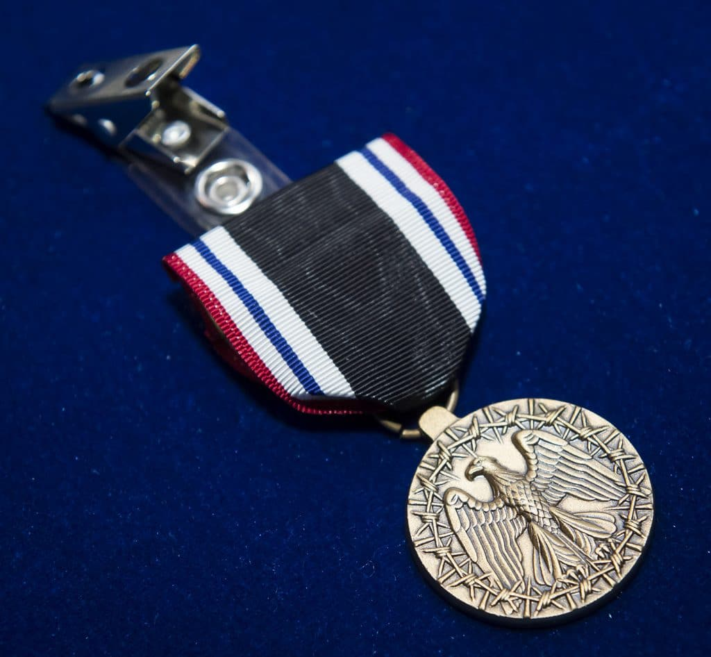 Grandson awarded WWI vet's POW medal