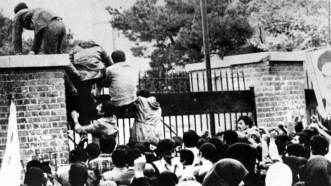 This Day In History: Iranians Storm The U.S. Embassy In Tehran Taking 52 Americans Hostages Featured