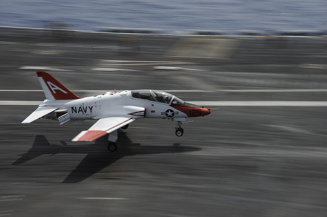 Navy says T-45 jet is missing & might have crashed over Tennessee, 2 pilots were on board Featured