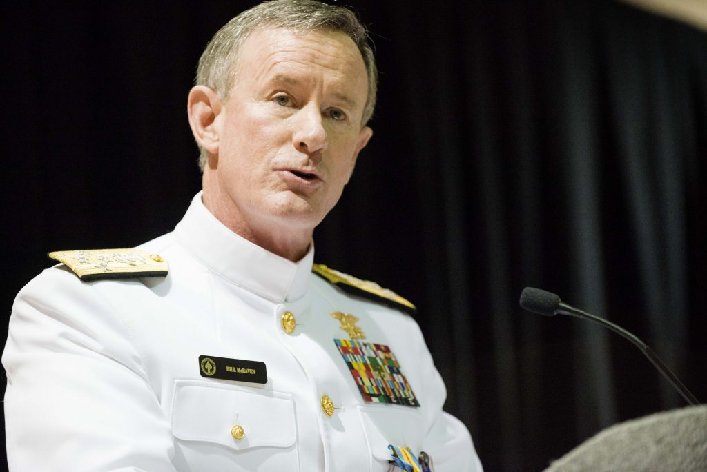 Fmr. SEAL boss McRaven slams Trump's Taliban peace talks, like 'sitting down with ISIS'