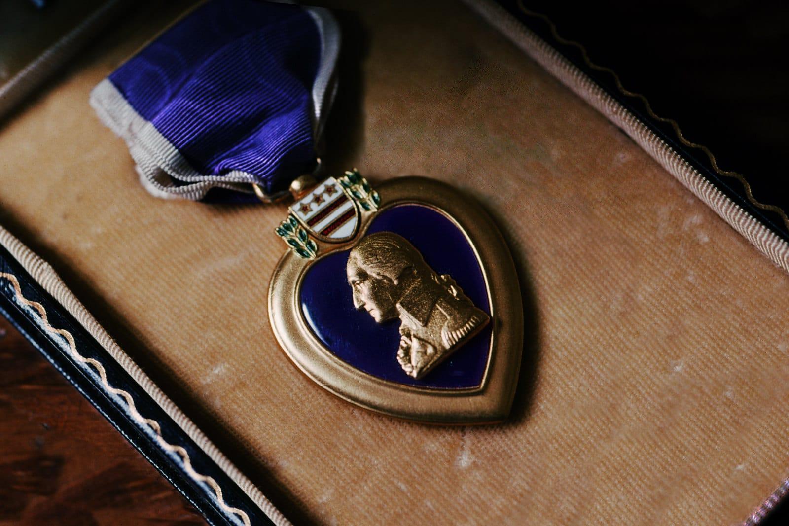 Illinois man receives medals from World War II and Korean War