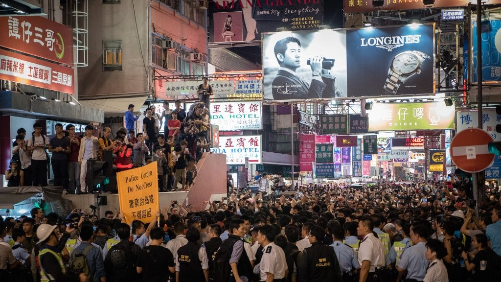 VIDEOS: One million join New Year protest march in Hong Kong
