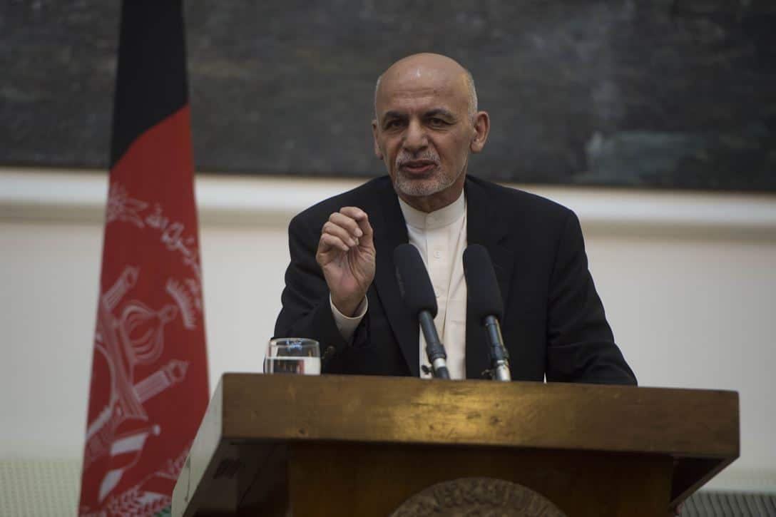 Afghan president vows to 'eliminate' Islamic State havens after wedding attack