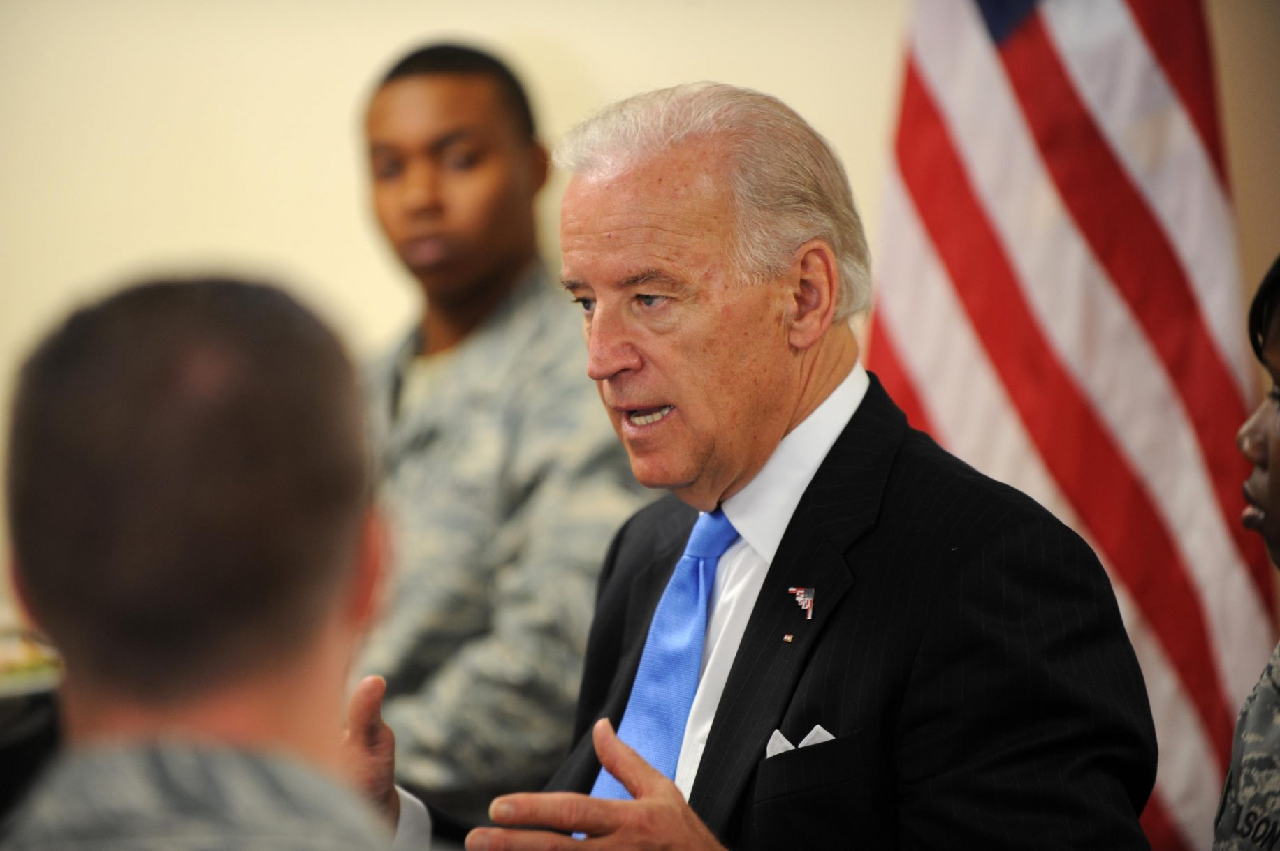 Joe Biden says 'no one needs AR-15s; weapons of war'
