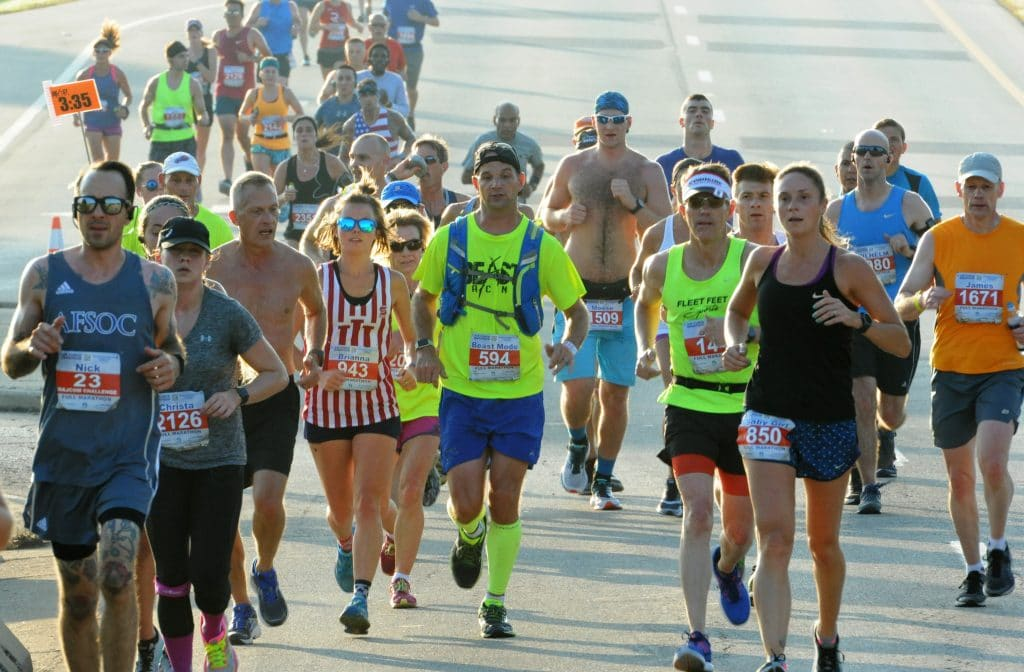 Thousands to run in Air Force Marathon at Wright-Patterson Air Force Base